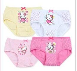 Wholesale Basic Underwear - Baby Girls Underwear cotton Spring and Summer New cartoon printing Comfortable breathable soft Panties lovely elastic sweet basic Underwear