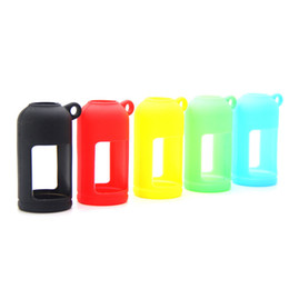 Wholesale Soft Rubber Sleeves - Silicone Skin For E Liquid Bottles Soft Pouch Box Protective Colorful Display Case Fit E Juice Bottle 30ML Silicon Rubber Sleeve