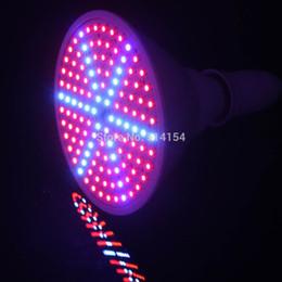 Argentina Al por mayor-15W E27 882LM-1008LM ROJO AZUL 126 SMD LEDS Hidropónico LED Planta Grow Lights AC85-265V lámpara de cultivo supplier wholesale leds grow lights Suministro