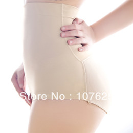 Wholesale Padded Shapewear Hips - Wholesale-High waist women's sexy Hip Padded Panties ladies shapewear Butt Enhancer breathable Bottom up bum underwear with free
