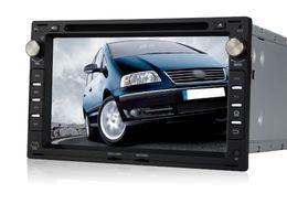 "Wholesale Dvd Vw T5 - 1024*600 4-core Android 4.4 2 din 7"" Car DVD Player Radio GPS for VW Volkswagen PASSAT B5 Golf 4 Polo Bora Jetta Sharan T5"