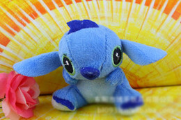 Wholesale Lilo Stitch Plush Backpack - Lilo & Stitch Stuffed Pendants Lovely Stitich Plush Toys For Baby Kids Children Backpack Hangs Home Decoration Good Gift