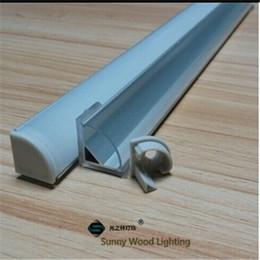 Wholesale Profile Bars - Free shipping 10pcs lot 2m led aluminium profile,45 degree triangle led channel for 10mm PCB board led bar light,YD-1002