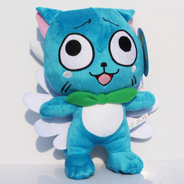 """Wholesale Blue Tail Fly - Fairy Tail 12"""" inch 30cm Cute flying Happy plush Doll Stuffed toy"""