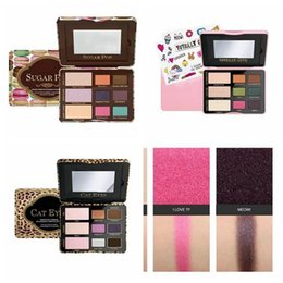 Wholesale Eye Shadow Cute - HOT! NEW Makeup Eyeshadow Palette Cat eye  Totally Cute  Sugar pop Eye Shadow Collection 9 color +GIFT dhl free shipping