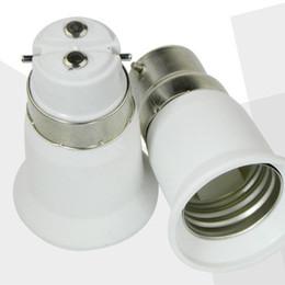 lâmpada led b22 base Desconto Edison2011 LED Base de Lâmpada Adaptador E27 para B22 E14 Conversor para Lâmpada LED Lâmpada Titular Da Lâmpada CONDUZIU a Lâmpada Bases Soquete Plug