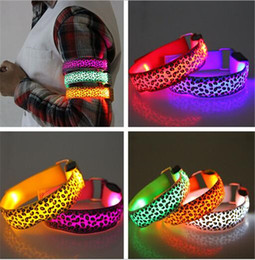 Wholesale Led Reflective Armband - hot 21 colors Led Arm band Safety Reflective Belt strap Snap Wrap Wrist Ankle Armband for Outdoor Sports D585