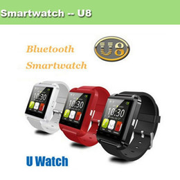"kids smart watch phone Promo Codes - U8 Smart watch Wrist Watch Phone Mate Bluetooth U8 For IOS Android iPhone Samsung LG HTC,1.44""LED U8 Pro Bluetooth Watch Touch Screen JBD-U8"