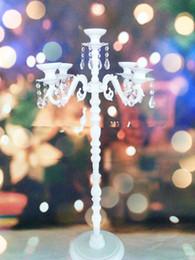 cinco brazos candelabros de cristal blanco for1177 hogar, deshierbe y decoración del día chrimas desde fabricantes