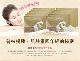 Wholesale Collagen Under Eye Pads - Lowest Price 500 pairs lot 1000pcs Anti-Wrinkle Gel Collagen Under Eye Patches Pad Mask Bag Dark Circle 1 pair=2 pieces