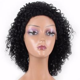Perruques de cheveux vierges cambodgiennes en Ligne-Nouvelle perruque de cheveux vierges cambodgienne à la mode Cambodian perruque bouclée sans colle pleine dentelle 100% expédier gratuitement