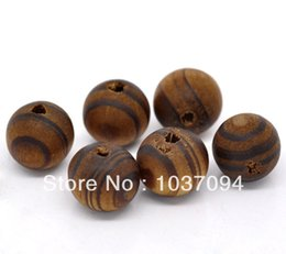 Wholesale Coffee Round Wood Spacer Beads - 100 Coffee Round Wood Spacer Beads 11mm