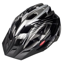 Wholesale Helmet Cycling Green - Hot Adults Bicycle Bike helmet 23 Air Vents Cycling Helmets Road MTB Bicycle Helmets Size L Green Blue Black Cascos Ciclismo 4 Colors