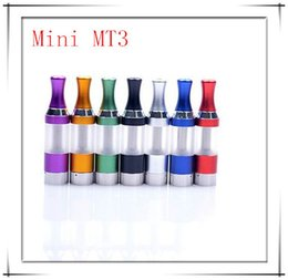 Wholesale Mini Bcc Clearomizer - 2015!Glass atomizer Mini MT3 Atomizer BCC Evod Clearomizer Electronic Tank Detachable Coil For ego t vision spiner all 510 Battery 10pc
