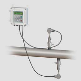 2019 tri pince inoxydable Gros-Insertion type mural débitmètre à ultrasons TUF-2000SW-TC-1