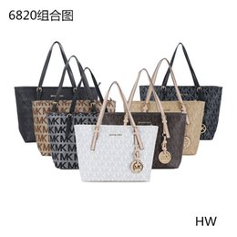 Wholesale Purses Brand Names - mk 2017styles Handbag Famous Designer Brand Name Fashion Leather Handbags Women Tote Shoulder Bags Lady Leather Handbags Bags purse 68200