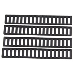 Wholesale Rail Covers Ladder - Funpowerland High quality Ladder 18 Slots Low Profile Rail Covers 4pcs pack Black For Handguard AR15 M4(DS9525A) Free Shipping