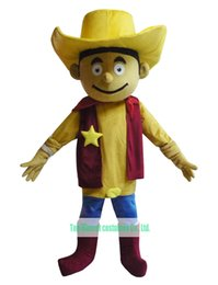 Wholesale Toy Story Woody Mascot Costume - Wholesale-Red Clothes Cowboy Mascot Costume Woody Halloween Toy Story Buzz Jessie Christmas Costume Free Shipping