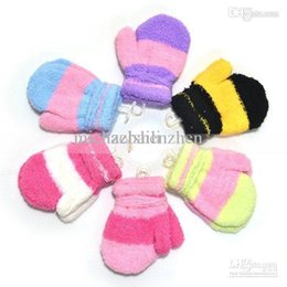 Wholesale Cotton Gloves Keep Warm - Wholesale-Wholesale - Free shipping3~7years old Baby children Gloves Mitten Children's Warm-keeping Glove Cartoon cute