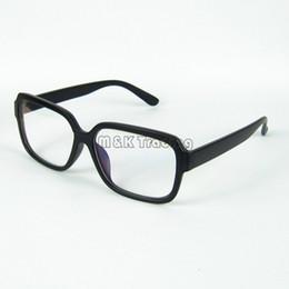 Wholesale Computer Radiation Glasses - Glasses Shop Fashion Optical Frame Retro Glasses Frames Clear Lens Radiation Protection Computer Glasses 20pcs Lot Free Shipment