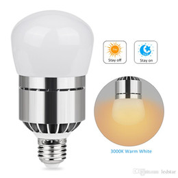 Discount cool lights for bedroom - LED Light Bulb 12W 2835 SMD LED Lamp Bulb E27 B22 Bayonet Dusk To Dawn Automatic On Off Sensor Light Bulb For Porch AC85-265V