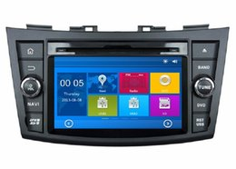 "Wholesale Car Gps Dvd Swift - HD 2 din 7"" Car Radio Car DVD Player for Suzuki SWIFT 2011 2012 With GPS Navigation Bluetooth IPOD TV SWC USB AUX IN"