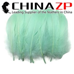 Wholesale mint green decorations - Leading Supplier CHINAZP Crafts Factory 10~15cm(4~6inch) Length Selected Top Quality Mint Green Goose Satinettes Loose Feathers