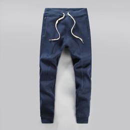 Wholesale Match Clothes Men - Wholesale-Fashion All Saints 100% Comfortable Cotton Wei Pants Solid Color All-Match Fashion Men's Clothing Sports Pants