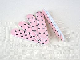 Wholesale Sandpaper Pattern - Nail Tools Nail Files emery file 100PCS LOT emery board pattern sandpaper mini nail file nail art FREE SHIPPING #SC0331-07