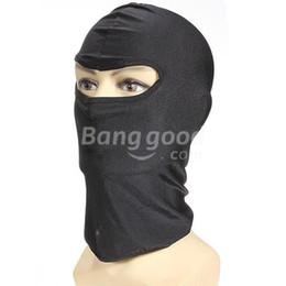 Wholesale Atacado dealforme Capacete de motocicleta Balaclava Scarf Snood Neck Warmer Face Mask