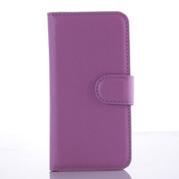 Wholesale Acer New Touch - new Lychee grain wallet PU leather case with card holder stand for Acer Liquid Z530 Z530S  Acer Liquid Z630 Z630S   for iPod Touch 5 6