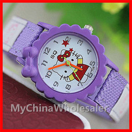 Wholesale Children Kids Cute Wrist Watch - New Kids Watches Children Cartoon Watch Fashion Girl Kids Student Cute Leather Sports Analog Wrist Watches Kid Fashion Casual Lovely Watches
