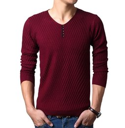 Wholesale Green Cashmere Sweater Dresses - Autumn Winter christmas sweater New Dress Knitted Sweater Men Clothing Brand Casual Shirt Cashmere Wool Pullover