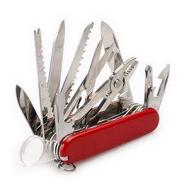 Argentina 2015 herramientas multifuncionales de 91 mm de acero inoxidable navaja cuchillo plegable navaja táctica cuchillo de camping cuchillos de regalo de navidad MFF152 Suministro