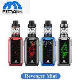 Wholesale Mini Led Kit - Authentic Vaporesso Revenger Mini 85W Starter Kit 2ml 3.5ml with LED Light 2500mah E Cigarette Vape Kit 100% Original