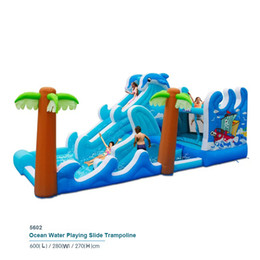 Wholesale Bouncy Castles - Rotating Slide Bounce house inflatable trampoline jumping bouncy castle bouncer jumper with climbing indood playground for kids