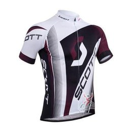 Wholesale Cycle Bib Scott - 2015 Summer hot sale scott cycling team jersey mens cycling tights and bicycle wear shorts bib