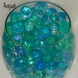Wholesale Magic Gel Soil - 17 colors For U Pick! crystal soil water beads growing magic jelly balls bio gel wedding casamento vase fillers orbiz