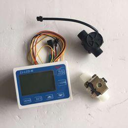 "Wholesale Flow Rate Sensors - Freeshipping G1 2"" Flow Rate Water Sensor Meter+LCD Digital Display Control Total Litres Hall"