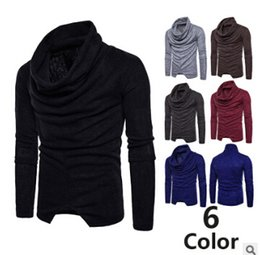 Wholesale cardigan sweater brown - Men's Sweater Fashion Shirt Cardigan Sweaters To Keep Warm Winter And Autumn Long Sleeve T-shirt