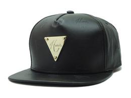 Wholesale Metal Snapback Hats - New 2015 snapback baseball cap hat Metal era Haters hip hop bling One Size gold