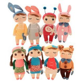 Wholesale Video Game Collectibles - 30cm Metoo Angela plush toys Kawaii Tiramisu Rabbit stuffed collectibles dolls Cartoon Movies & TV children toy for Christmas gifts 201511HX