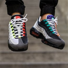 Wholesale Mens Casual Shoes Boots - Free 2017 shipping new Discount being Maxes95 Mens nmd Racer sneakers boots man running shoes SB women Casual shoes eor 36-45