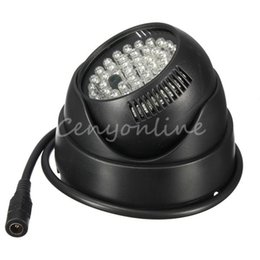Wholesale Ir Illuminator For Camera - 2014 Newstyle Hot 360 Degree Rotation 48 LED for Illuminator IR Infrared Night Vision Light For CCTV Security Camera Top Quality