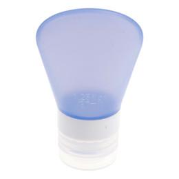 Wholesale Shampoo Tubes Wholesale - Wholesale- Silicone Travel Bottles Shampoo Shower Gel Lotion Sub-bottling Tube Squeeze Tool 37ml #72205
