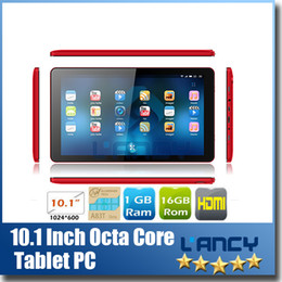 Wholesale Hdmi Red White Yellow - 16GB ROM Android 4.4 allwinner A83T 10.1 inch Octa core tablet pc