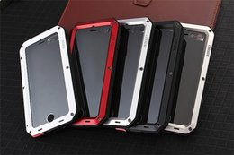 Wholesale Iphone Corning Gorilla - 2017 Case Cover Corning Gorilla Glass Aluminum Metal Case Premium Protection case cover for iphone 7 plus 6s Plus free shipping