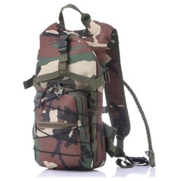 Wholesale Tactical Assault Backpack Hydration - Multicolor 2.5 Cycling Water Bag Hydration Packs Tactical Water Bag Assault Women Men Backpack Hiking Pouch Free Shipping