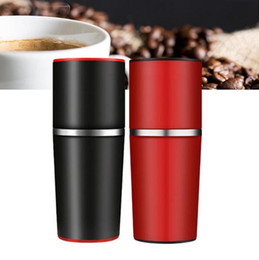 Wholesale Manual Hand Press - Manual Coffee Maker Hand Pressure Portable Espresso Machine Coffee Pressing Bottle Pot Coffee Tool for Outdoor Travel Use