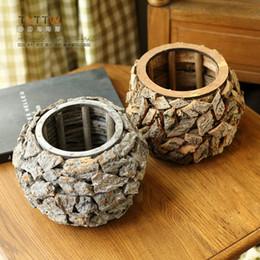 Fiori per piante da interno ed esterno, bonsai per ceppi a cassettoni Fioriere Micro Landscape da albero di fiori bonsai indoor fornitori